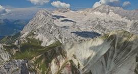 Die Zugspitze über das Reintal