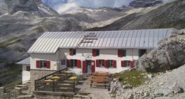 Übernachtung in der Knorrhütte, 2051 m.