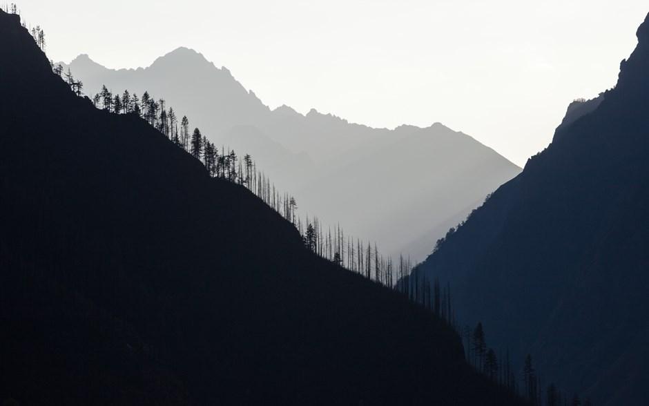 Ein Oktobernachmittag in Nepals einsamen Westen