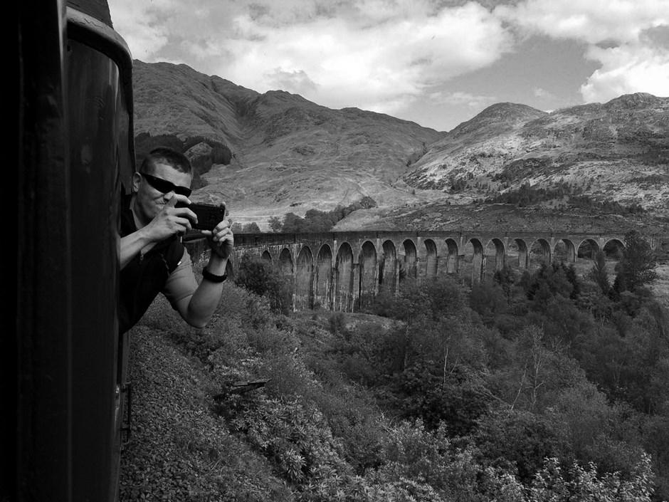 Schottland Train