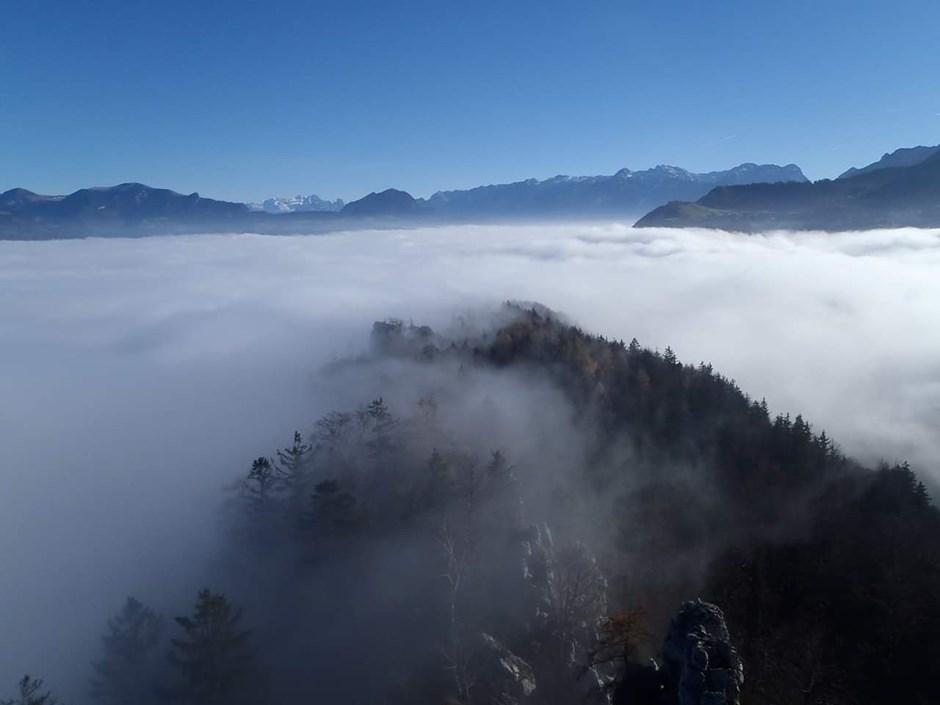 Barmstein im Nebel