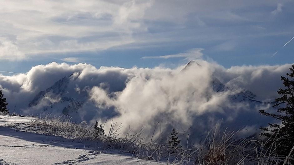 """Platz drei: """"Wolkenspiel am Gaishorn"""" (498 Punkte)"""