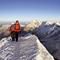 Nur noch wenige Meter bis zum Schweizer Gipfel.