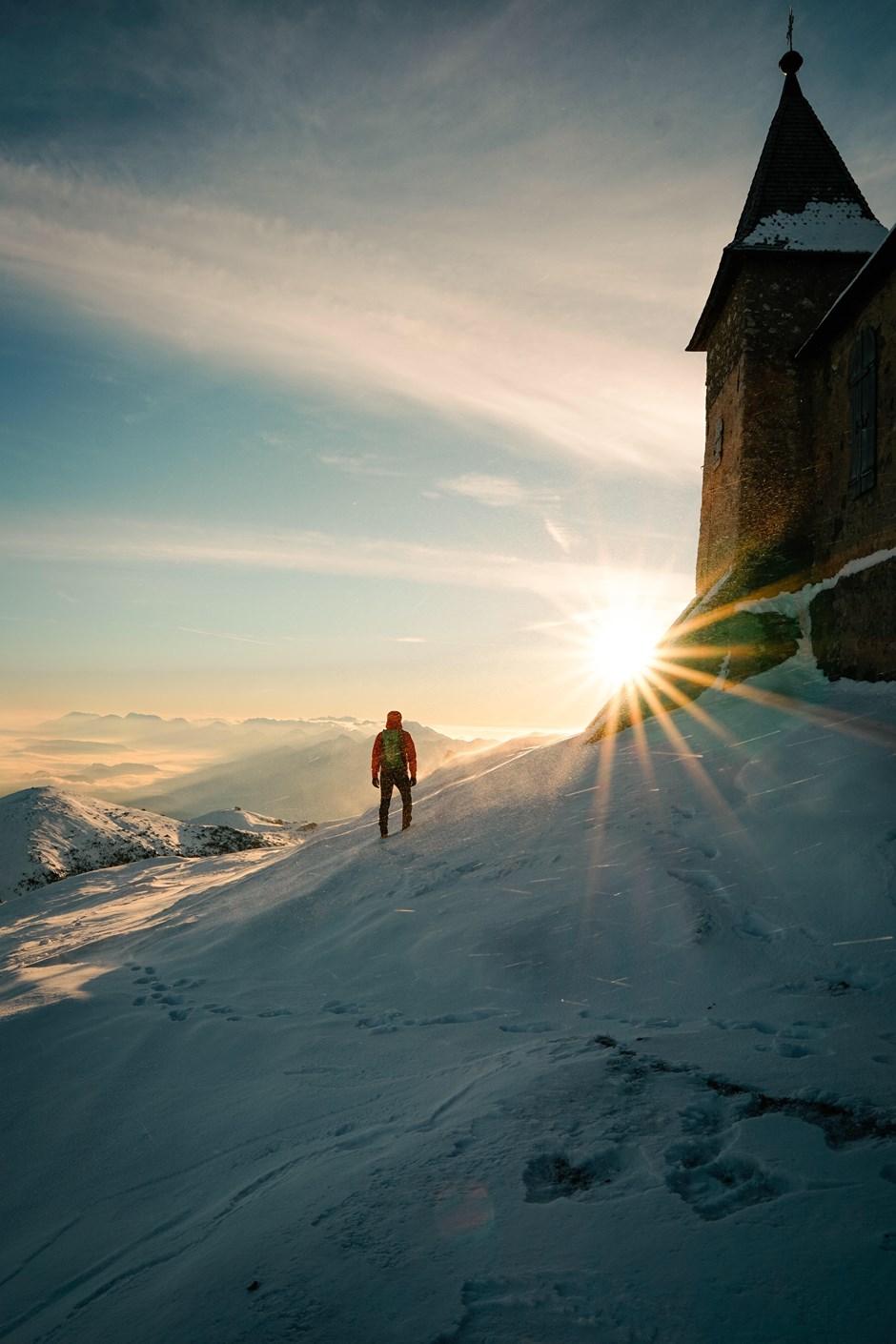 Sonnenaufgang über Kärnten
