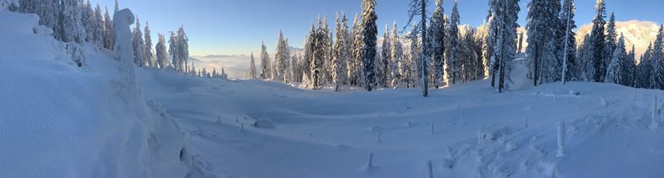 Winterlandschaft am Hochkönig