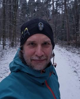 Unterwegs mit der Luma Boost: Portalmanager Holger.