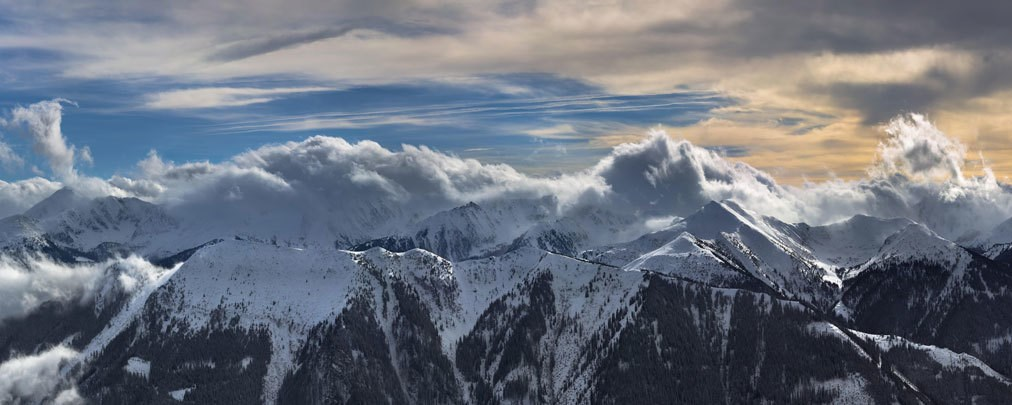 Lawinenunfälle in den Alpen
