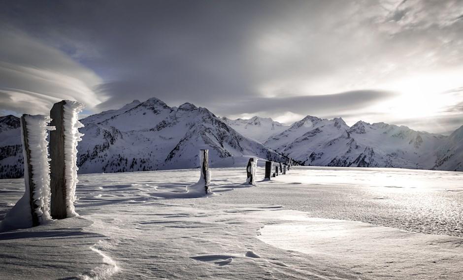 """Platz vier: """"Alpiner Eiszauber"""" (442 Punkte)"""