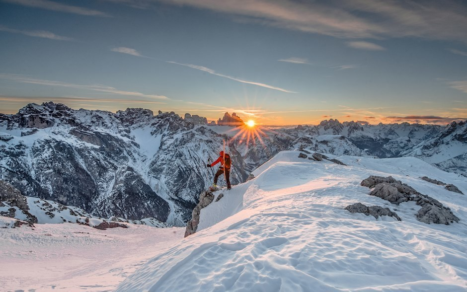 """Platz eins: """"Backcountry Sunrise"""" (1394 Punkte)"""