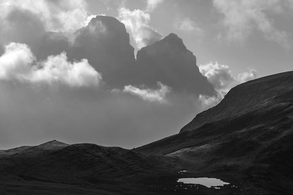 Silhouette des Monte Pelmo