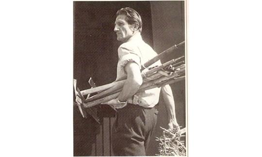 Anderl Heckmair prägte die Anfänge des Bergführer-Wesens in Deutschland wesentlich mit.