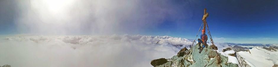 Gipfelglück am Grossglockner
