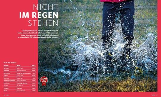Die Aufmacher-Seiten des Tests im April-Heft 2019.