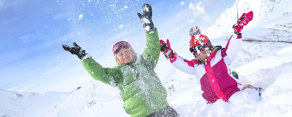 Mit Kids auf Skitour