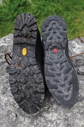 Natürlich haben unterschiedliche Sohlen Einfluss auf die Schuhe.