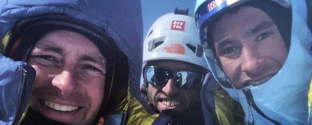 Lama, Auer und Roskelley: Beim Abstieg in den Tod gerissen