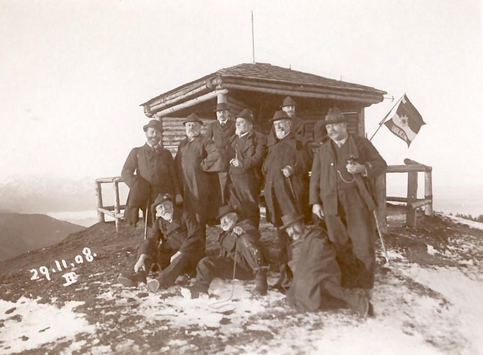 Gründung des Deutschen Alpenvereins