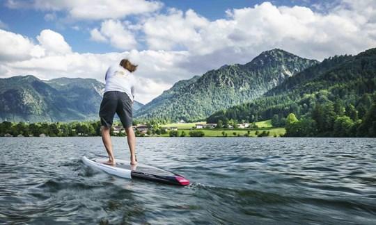 Zu Wasser, zu Lande und, ja, in der Luft: Beim 1. Bergzeit Outdoor Testival Tegernsee ist für jeden die richtige Aktivität dabei.