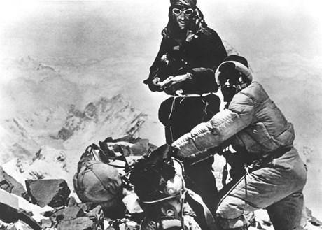 Sir Edmund Hillary: Bilder eines Bergsteiger-Lebens