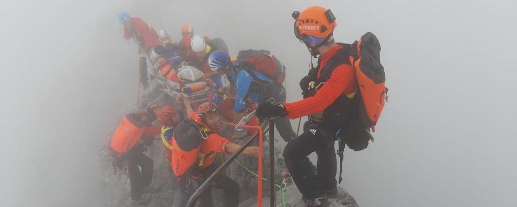 Aufwendige Rettungsaktion am Watzmann
