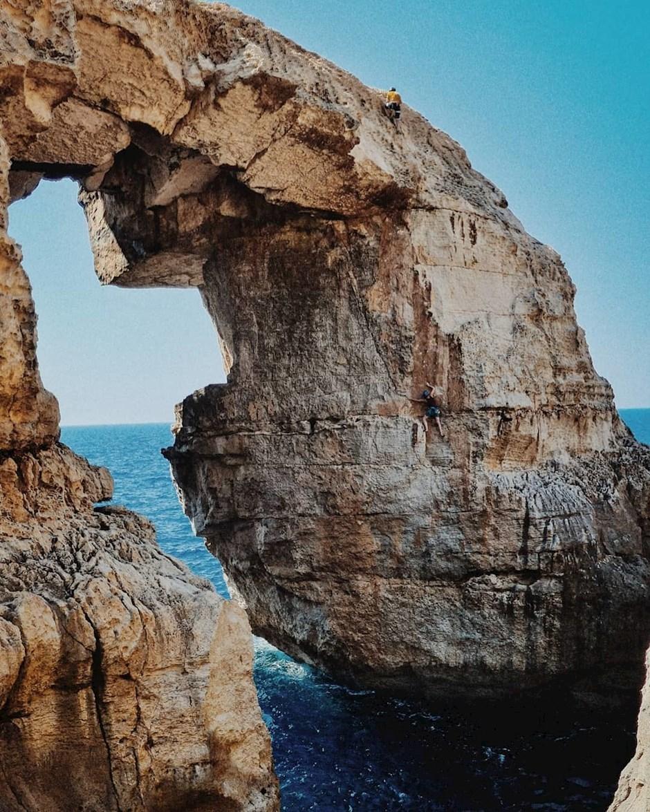 """Platz eins: """"Im Fels unterwegs auf Gozo"""" (481 Punkte)"""