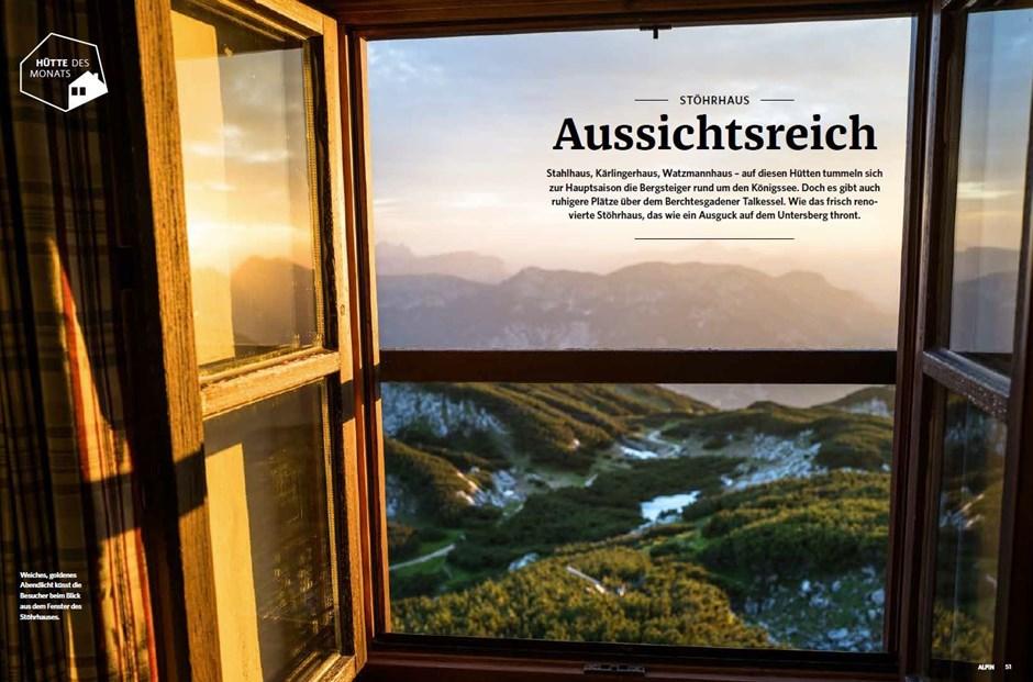 Hütte des Monats: Stöhrhaus