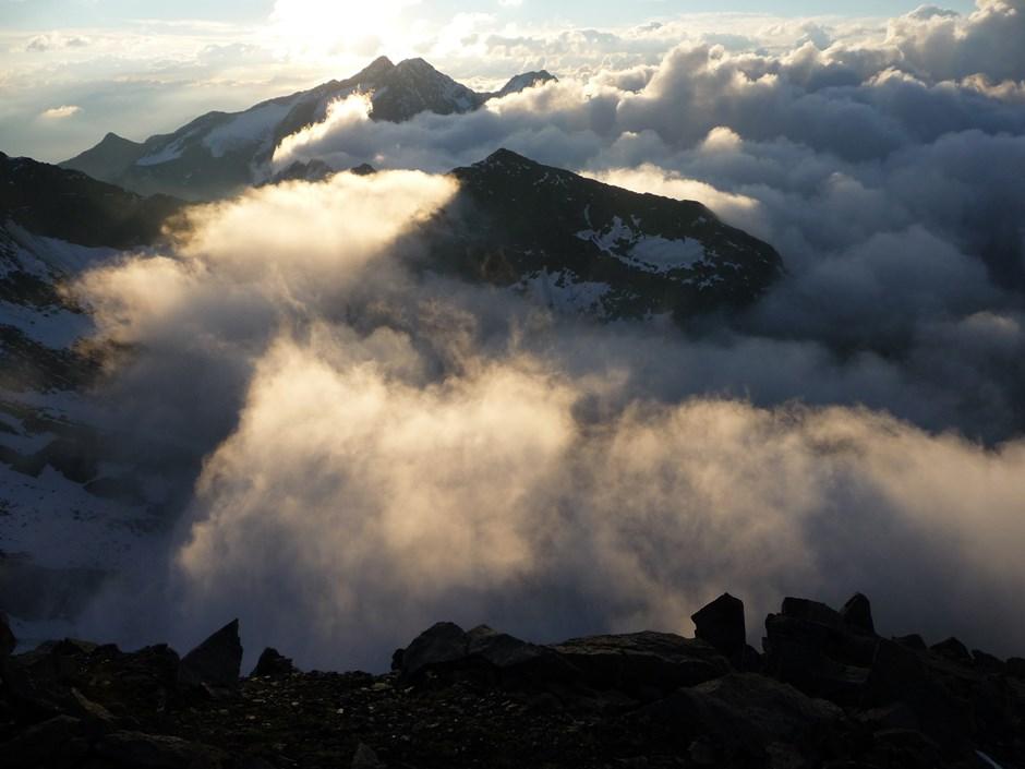 Wolkentanz am Morgen