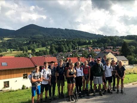 Bilder vom P-Seminar Alpenüberquerung