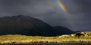 """""""Regenbogen und Wolken"""": Schickt uns Eure Bergfotos!"""