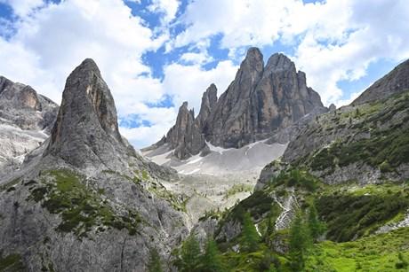 Galerie: Büllelejochhütte in den Sextener Dolomiten