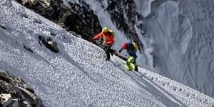Gipfel sammeln für das Glockner-Biwak