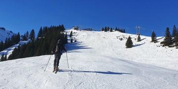 Skitouren auf Pisten, Bayern, Pistentouren
