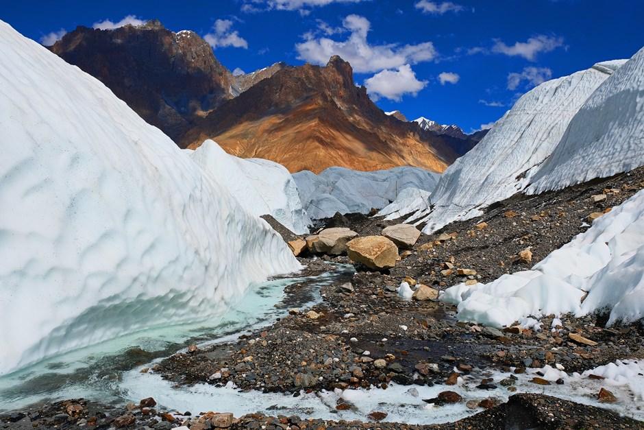 Gletscherwanderung in Pakistan