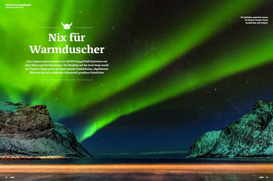 Titelstory: Winter in Norwegen