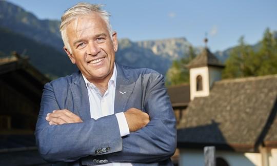 Engagiert in der Corona-Krise: Salewa-Chef Heiner Oberrauch, Präsident der Oberalp  Group.