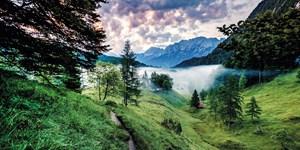 In 12 Etappen durch die Zugspitz Region