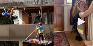 So trainieren Kletterer zuhause