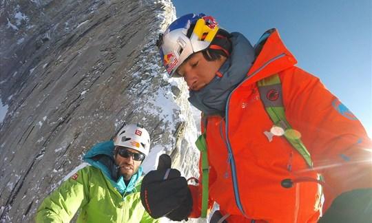 Prägten den modernen Alpinismus: Hansjörg Auer und David Lama.