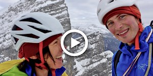 "Ines Papert & Luka Lindic:  ""Alpinism on the Edge of Dreams"""
