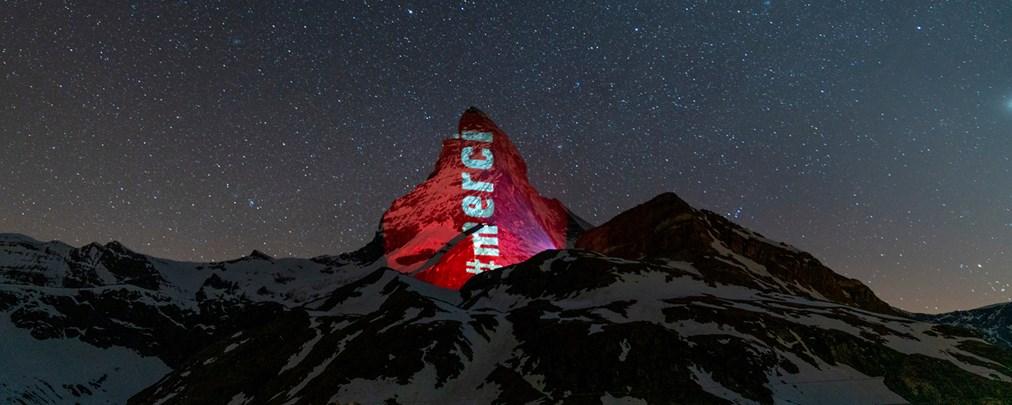 Corona-Krise: Lichtprojektionen am Matterhorn beendet