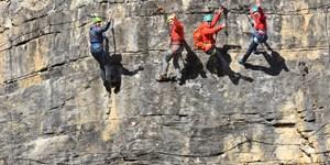 Test: Die besten Klettergurte für den Klettersteig
