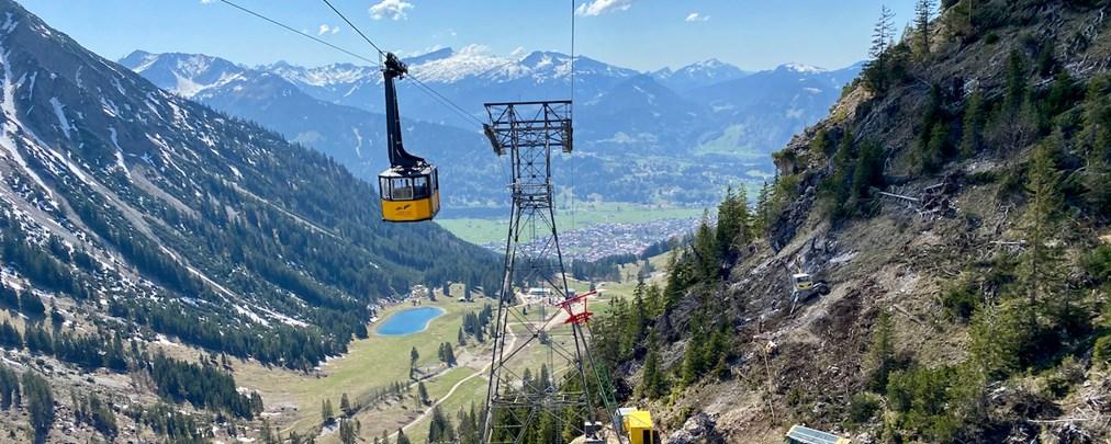 Allgäu: Neubau der Nebelhornbahn vorgezogen