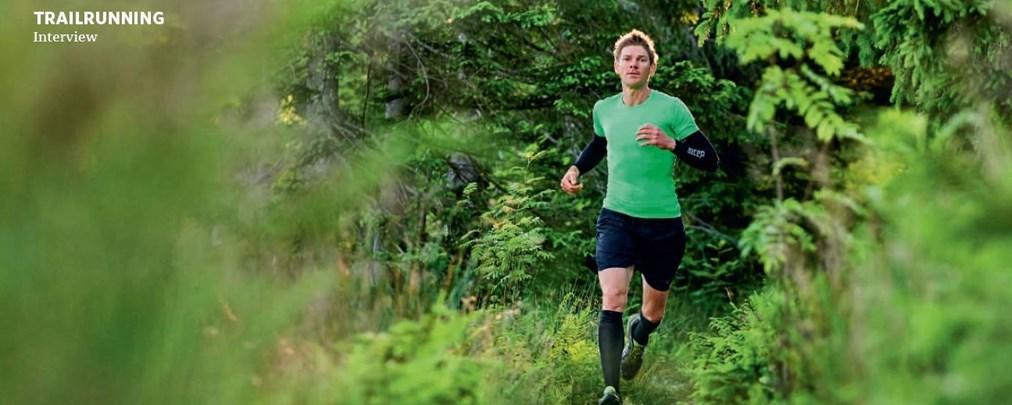 Trailrunner Markus Mingo: