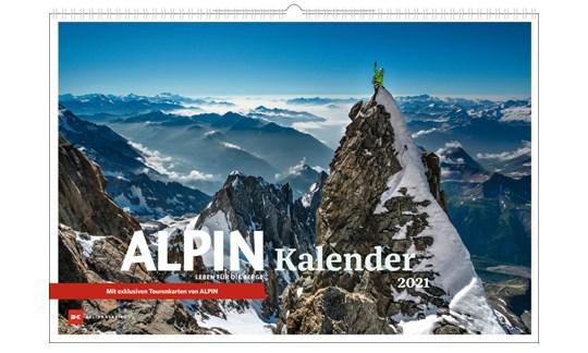Titelblatt des ALPIN Kalender 2021.