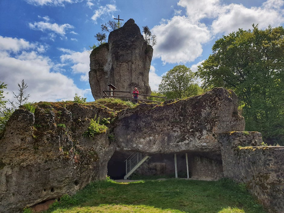 MTB-Tour zur Burgruine Leienfels