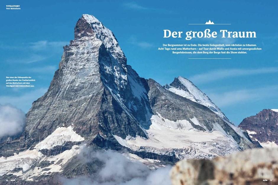 Titelstory: Matterhorn-Trekking