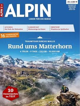 """ALPIN 11/2020ist seit dem 10.10. im Zeitschriftenhandel und in unserem<a href=""""https://leserservice.alpin.de/einzelhefte/"""" rel=""""nofollow"""" target=""""_blank"""">Heft-Shop</a>erhältlich."""