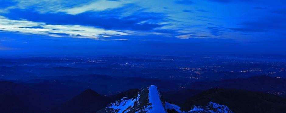 Die Blaue Stunde im Appenzeller Land
