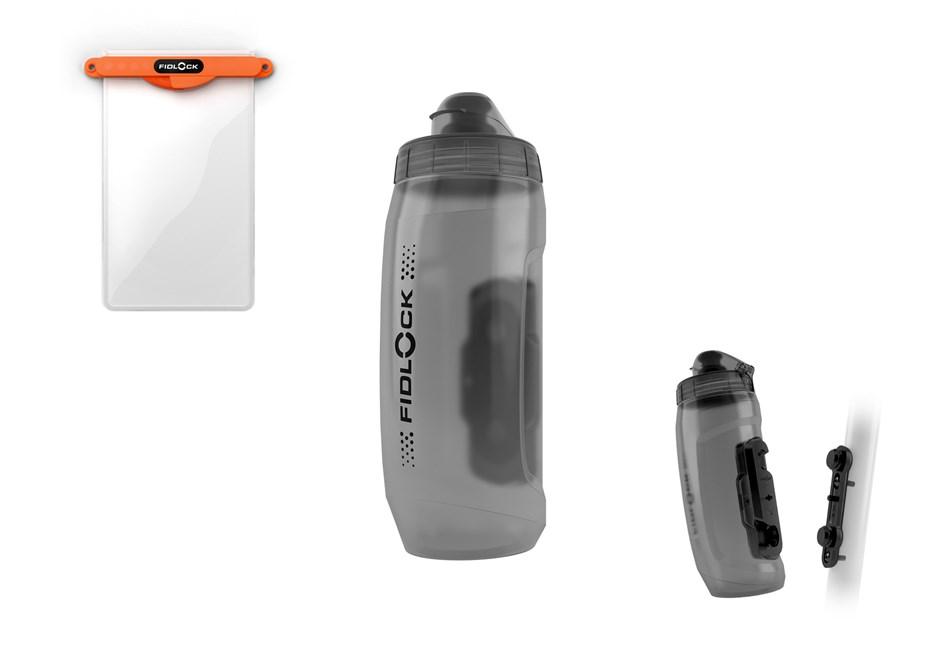 Fidlock Twist Bottle, Twist Tex Base, Hermetic Dry Bag, Twist Uni Connector