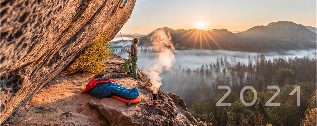Eindrucksvoll: Bergkalender für 2021
